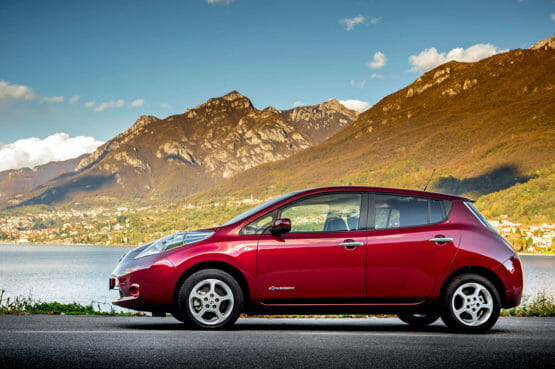 Nissan Leaf 30kWh 2015 charging technical specs