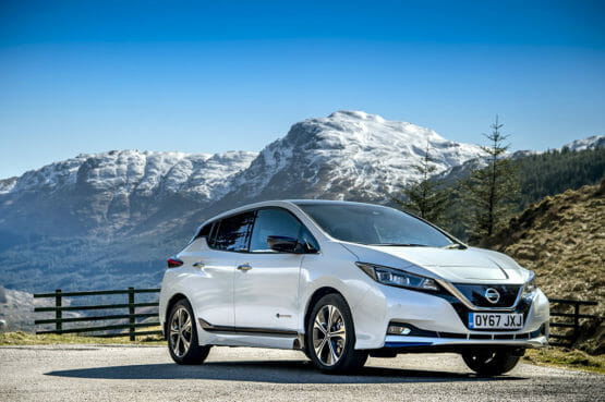 Nissan Leaf 2018 charging and technical guide