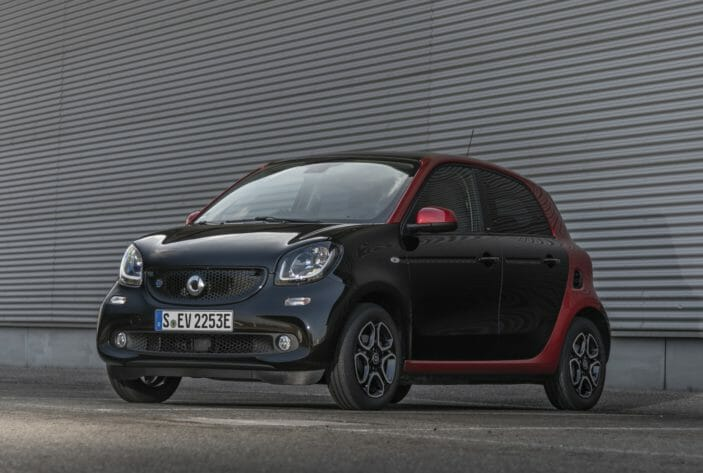 Smart EQ forfour 2018 charging guides