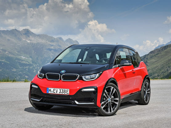 BMW i3s 2018 charging guide
