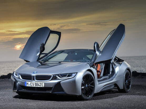 BMW i8 coupe 2018 complete charging